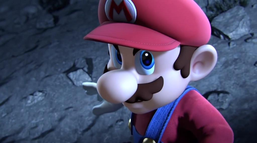 Mario In Smash Bros Video