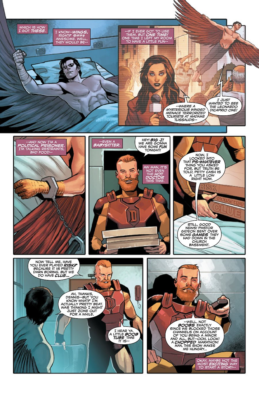 Mary Sue Joaquin: Captain America Introduces New Falcon