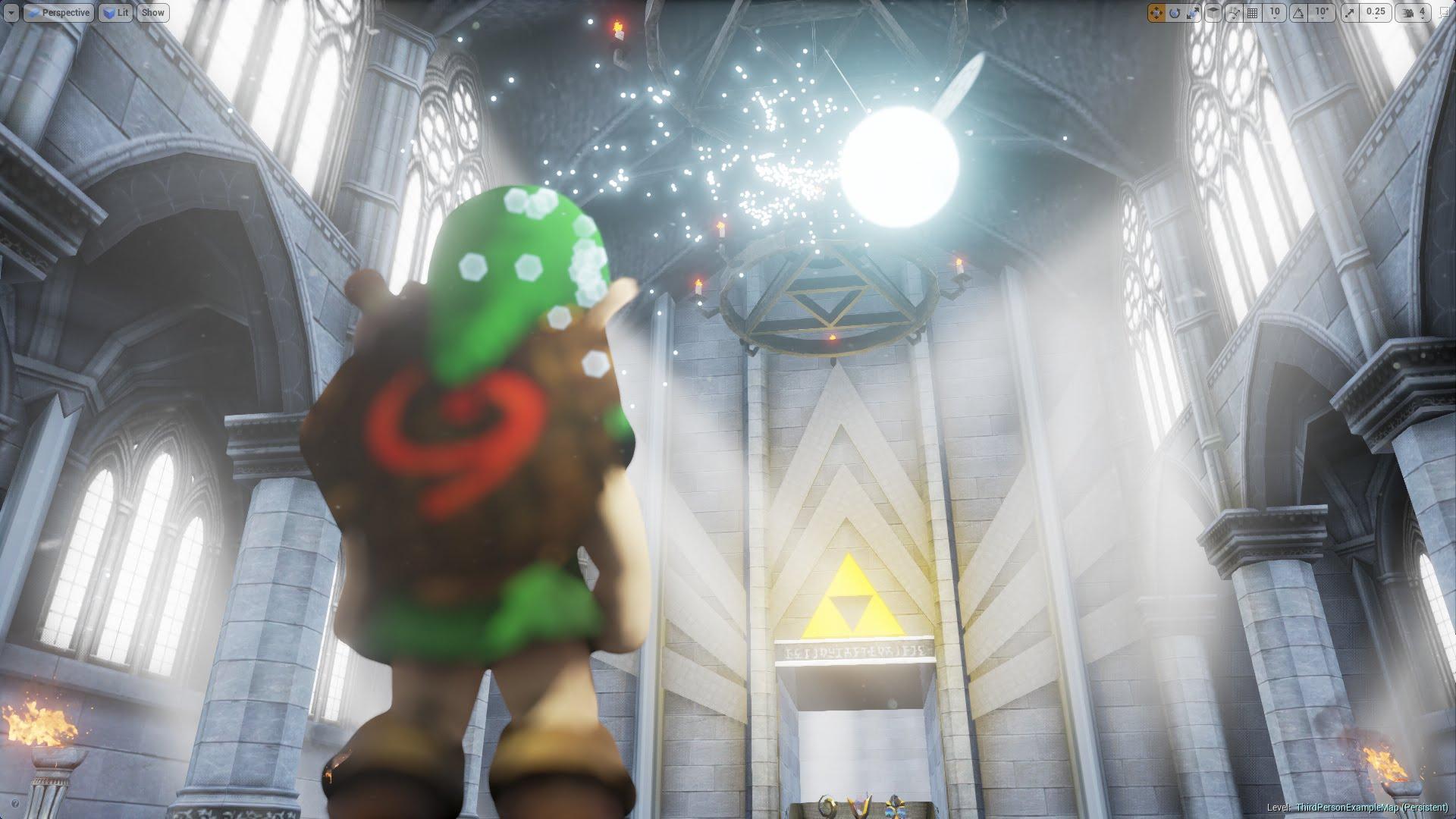 Fan's Playable HD Legend of Zelda Temple Makes the Wait for Nintendo's Next Zelda Excruciating