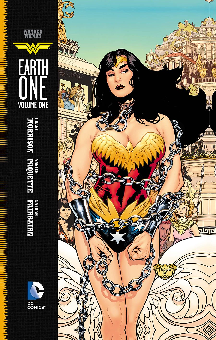 grant morrison talks wonder woman earth one the mary sue. Black Bedroom Furniture Sets. Home Design Ideas