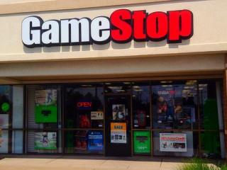 GameStop video game storefront
