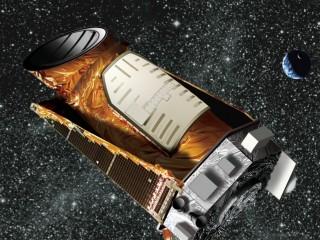 Kepler spacecraft artist render