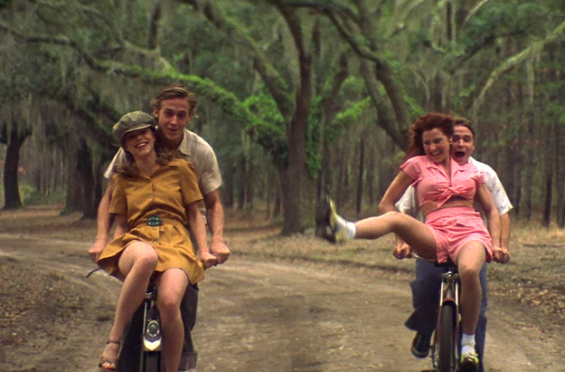 Help me to write an essay based from the movie The Notebook?