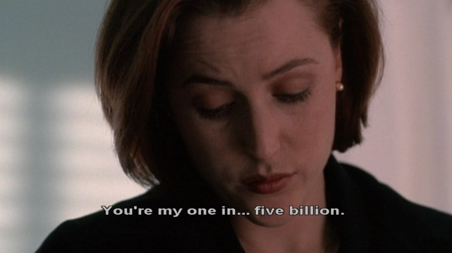 You're My One in Five Billion