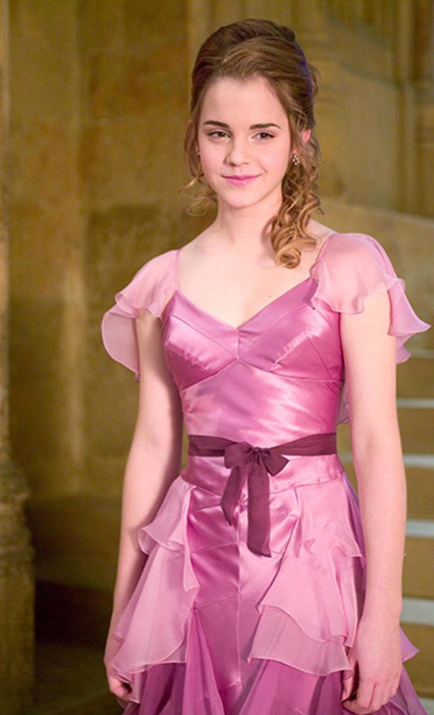 Blue dress harry potter 4 movie