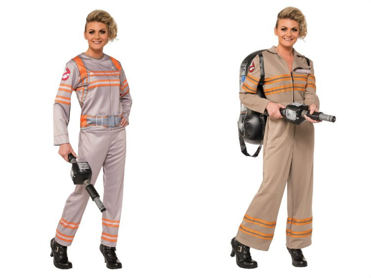 ghostbusters costumes  sc 1 st  The Mary Sue & Have a Sexy Ghostbusters Halloween | The Mary Sue