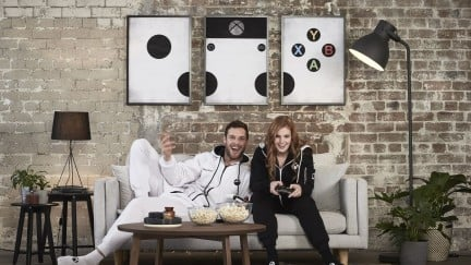how about that postmodern xbox art on the wall