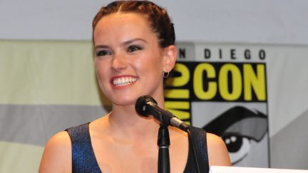 Daisy Ridley at Comic Con