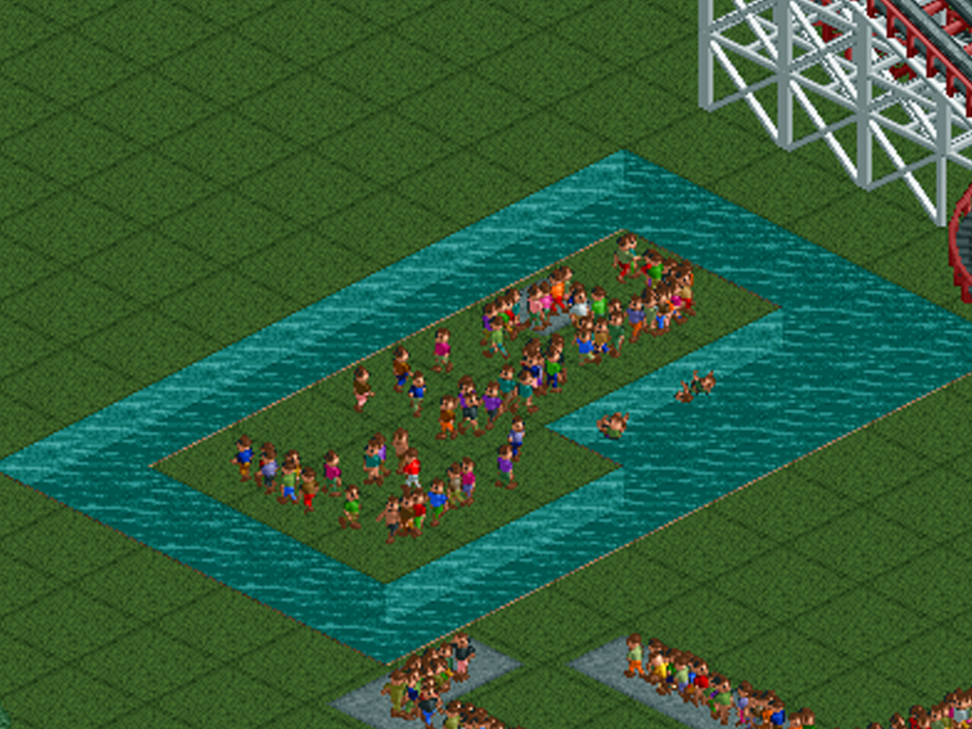 RollerCoaster Tycoon Now on iOS and Android | The Mary Sue