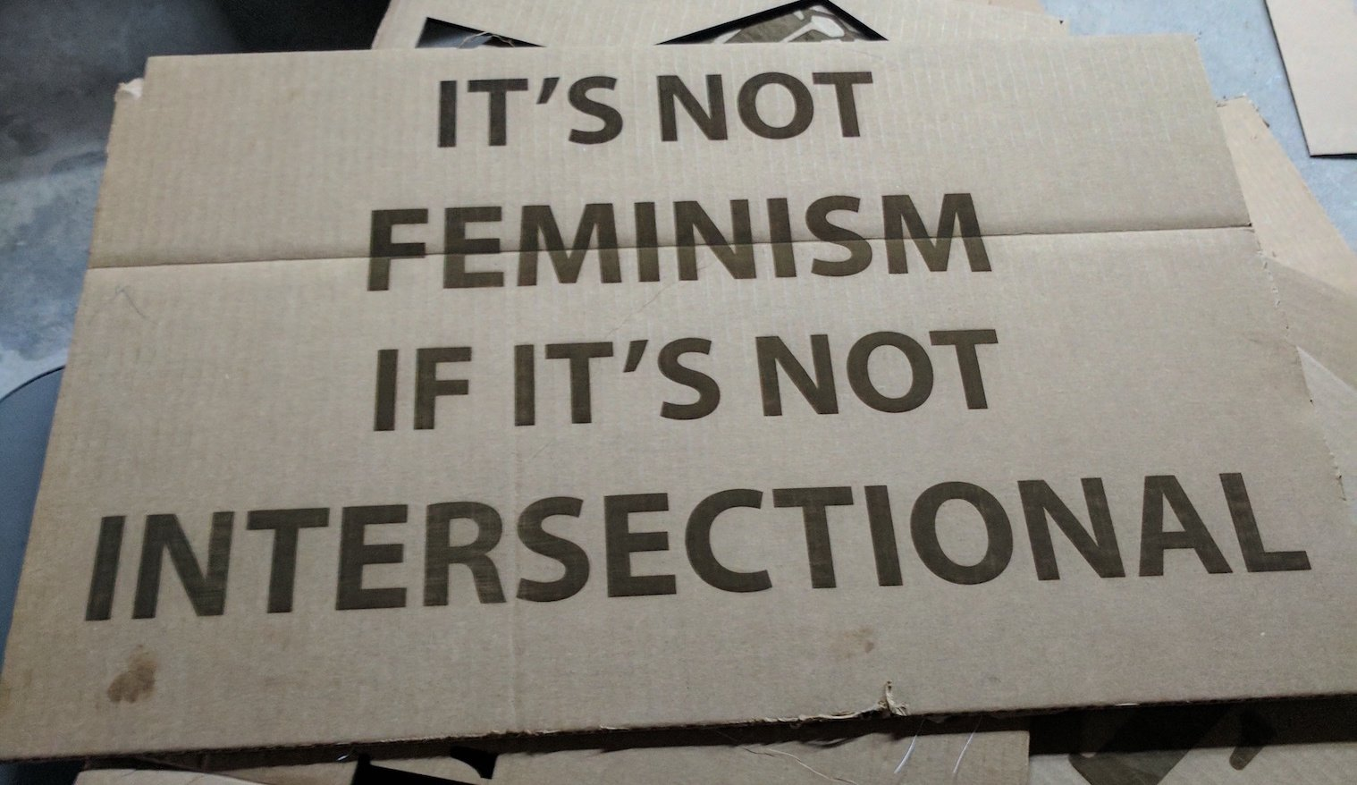 Signs of feminism