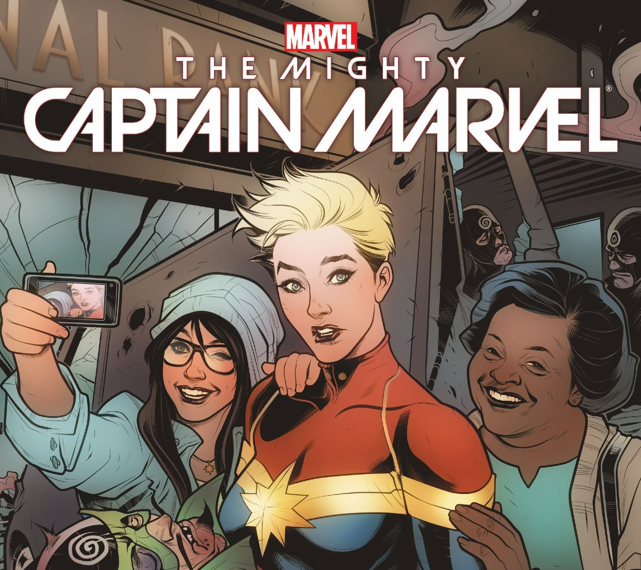Exclusive The Mighty Captain Marvel Video Spotlight Series The Mary Sue