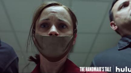 Alexis Bledel as Emily/Ofglen in Hulu's