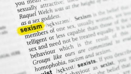 image: Lobro/Shutterstock definition of sexism