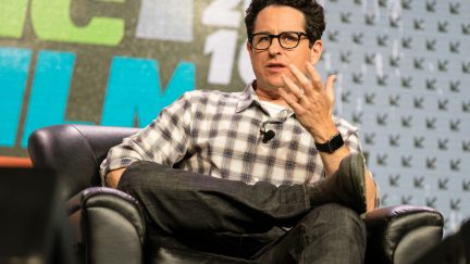 image: stock_photo_world/Shutterstock AUSTIN - MARCH 14, 2016: Director JJ Abrams speaks at a SXSW event in Austin, Texas.