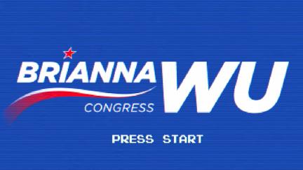 Screengrab of Brianna Wu's congressional campaign video,