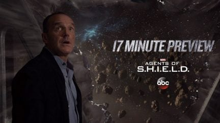 YouTube thumbnail from the 17-minute preview of Agents of SHIELD Season Five