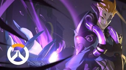 YouTube thumbnail image for the origin story video of Moira from Overwatch