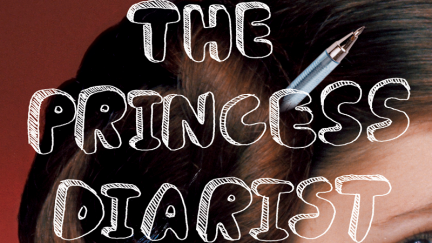 Cropped cover image for Carrie Fisher's The Princess Diarist, published by Penguin Random House
