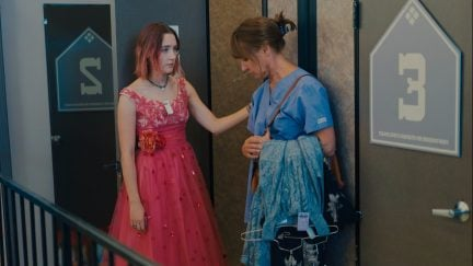 Lady Bird (Saoirse Ronan) and Mother Marion (Laurie Metcalf)