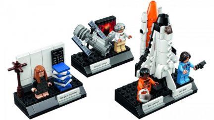 Still of NASA Women LEGO Set From LEGO Ideas