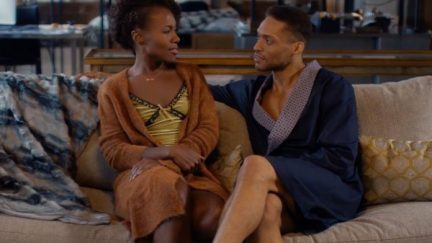 image: Netflix DeWanda Wise as Nola Darling and Cleo Anthony as Greer Childs in Netflix's
