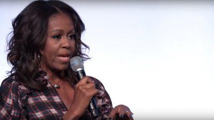 Michelle Obama at the inaugural Obama Foundation Summit 2017