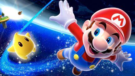 Mario in Super Mario Galaxy