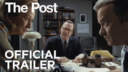 the post trailer spielberg tom hanks meryl streep