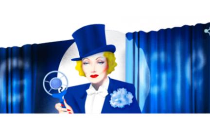 Google Doodle-Marlene Dietrich