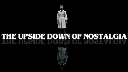 YouTube thumbnail for Lindsay Ellis's video examining nostalgia in Stranger Things and It