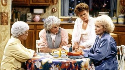 image: Disney/ABC Estelle Getty, Bea Arthur, Rue McClanahan, Betty White