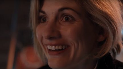 image: screencap Jodie Whittaker as the 13th Doctor on Doctor Who BBC