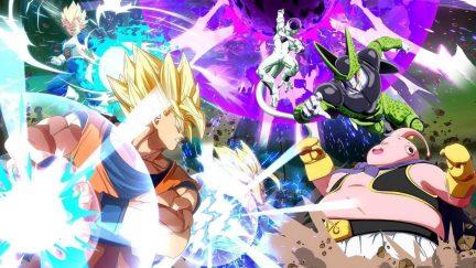 Dragon Ball FighterZ splash screen