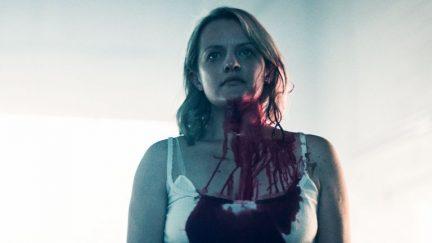 image: Take Five/Hulu Elizabeth Moss as June/Offred in Hulu's