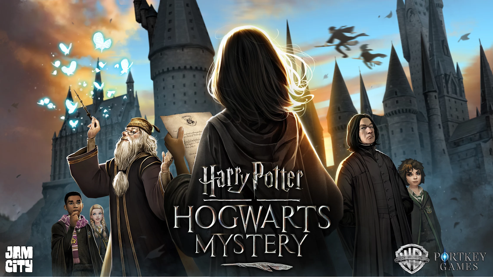Here's the Snazzy Teaser Trailer for the Harry Potter Hogwarts Mystery Game