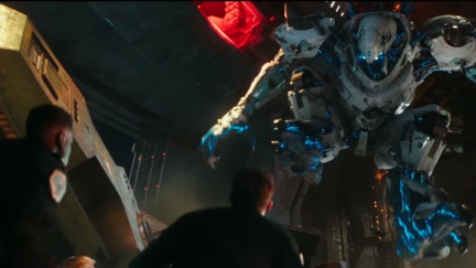 Screengrab of the new trailer for