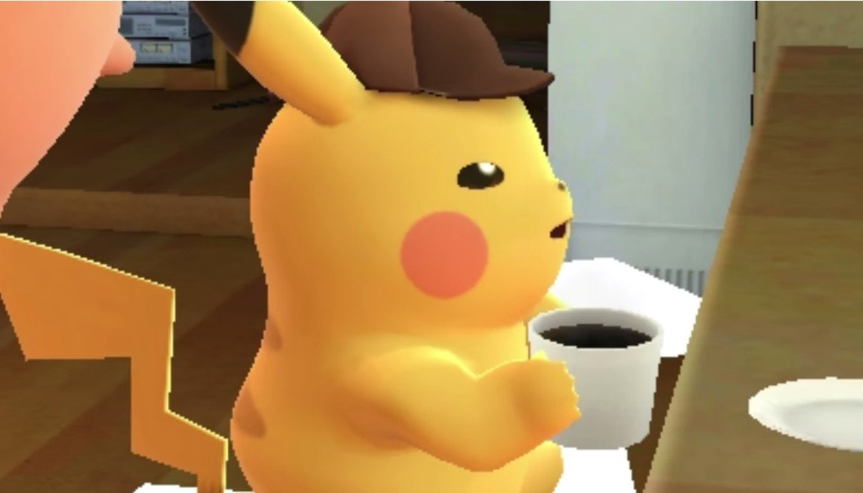 Coffee Drinking Detective Pikachu To Arrive In March The Mary Sue