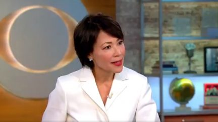 image: screencap Ann Curry on CBS This Morning