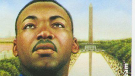 MLK Stamp