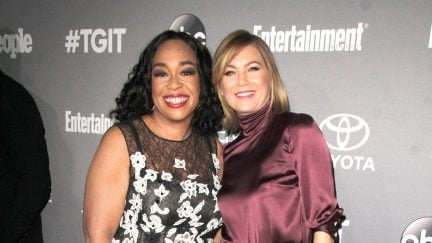 Image of Shonda Rhimes and Ellen Pompeo Photo credit: Kathy Hutchins / Shutterstock.com