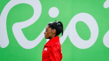 Simone Biles at Rio Olympics. Image credit: Petr Toman / Shutterstock.com