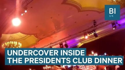 financial times undercover president's club