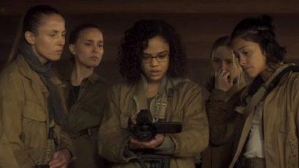 image: screencap/Paramount Annihilation Jennifer Jason Leigh Natalie Portman Tessa Thompson Gina Rodriguez Alex Garland