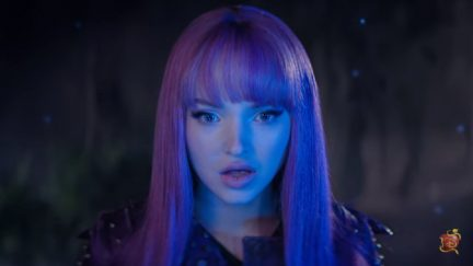Screengrab of Dove Cameron as Mal in the teaser for Disney Channel's