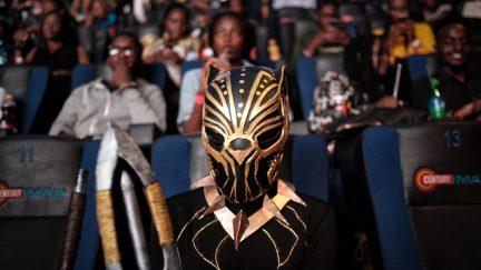 black panther screening reviews reactions representation opening night
