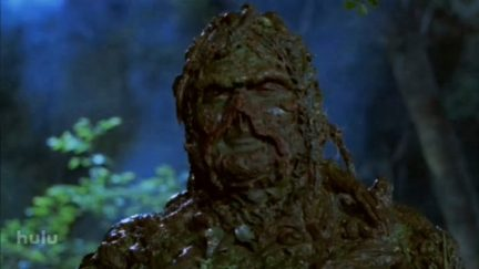 image: Lightyear Entertainment Dick Durock as Alec Holland/Swamp Thing in