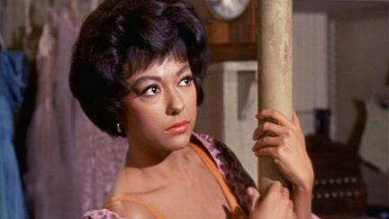 Rita Moreno as Anita in West Side Story