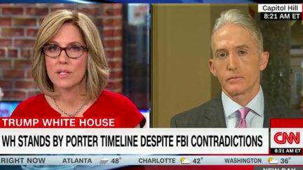 South Carolina Republican Representative Trey Gowdy on CNN