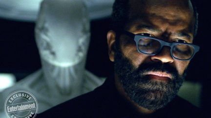 image: HBO/Entertainment Weekly Jeffrey Wright as Bernard in HBO's Westworld