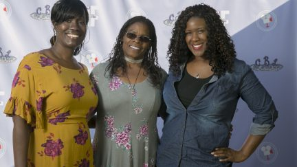 Cheryl L. Bedford and guests at the Women of Color UNITE event.